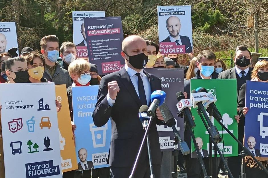 Wybory w Rzeszowie: Konrad Fijołek przedstawił swój program wyborczy