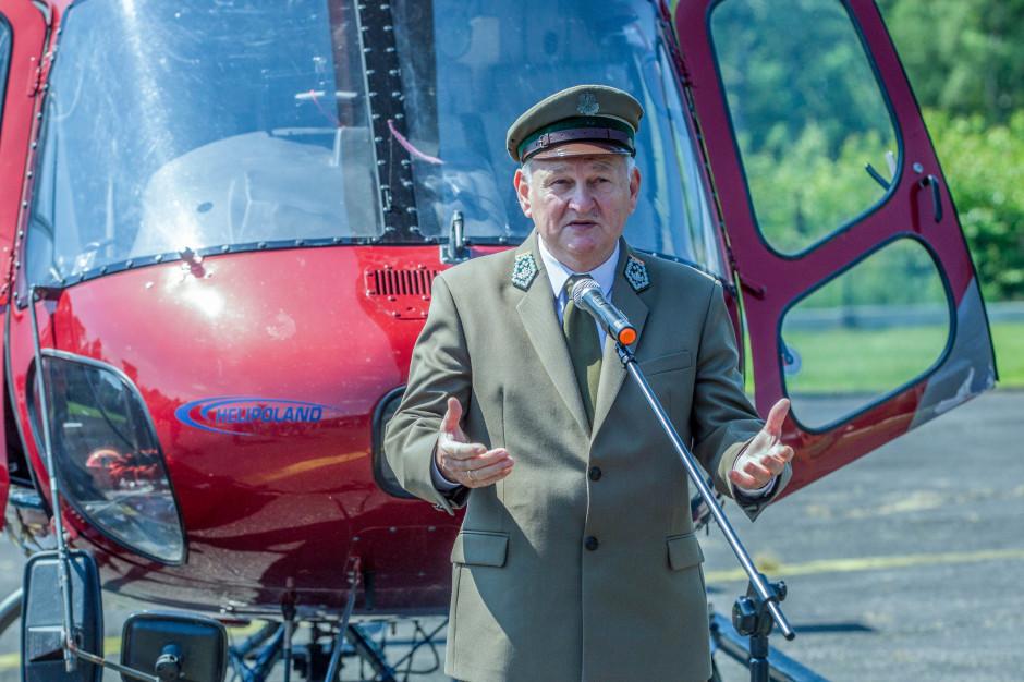 Józef Kubica p.o. dyrektora generalnego Lasów Państwowych