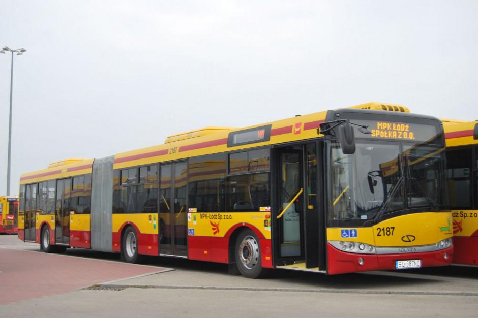 Autobusy z siedzeniami z antywirusową tkaniną rusza na ulice Łodzi