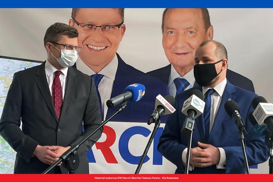 Były poseł Kukiz'15 poparł kandydaturę Warchoła na prezydenta Rzeszowa