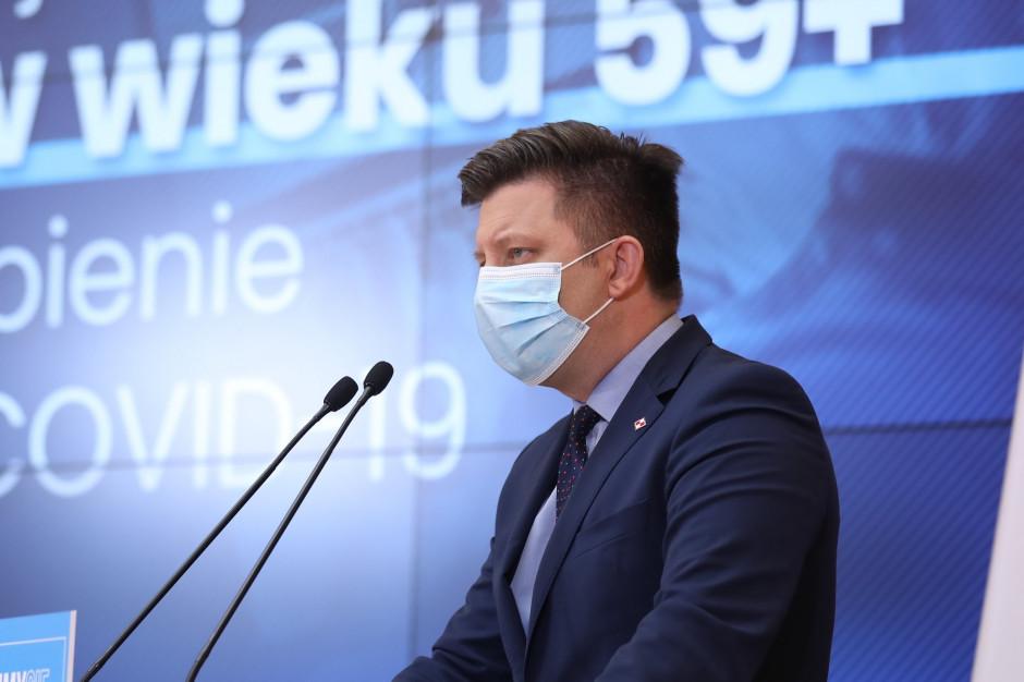 Dworczyk: Do końca kwietnia wykonamy 20 mln szczepień