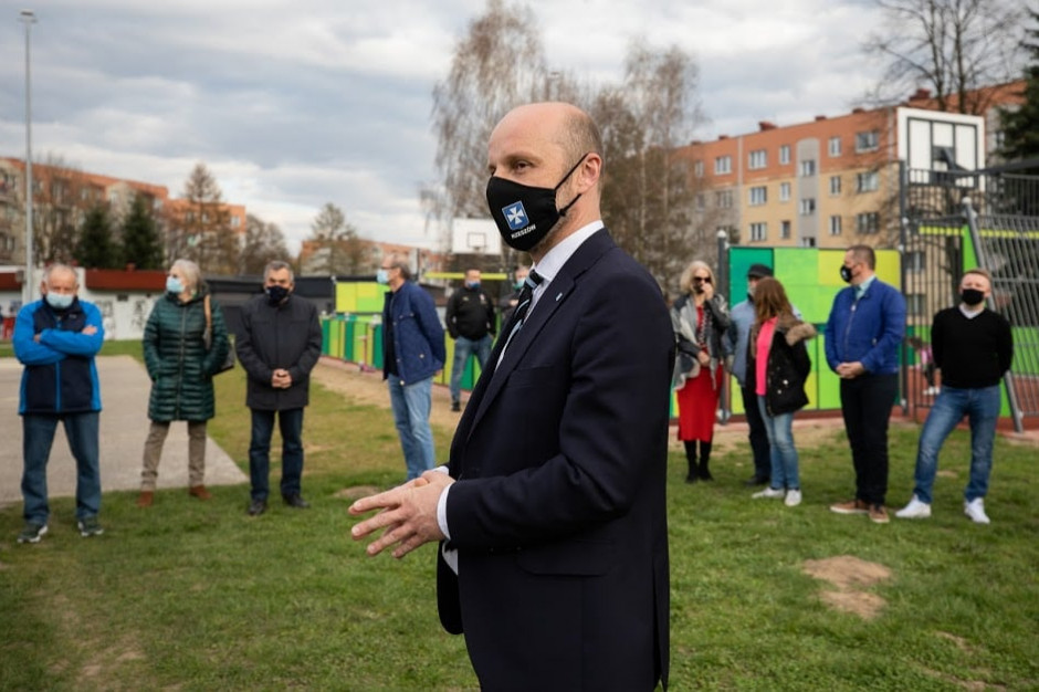 Konrad Fijołek apeluje o wsparcie swojej kampanii wizerunkowej
