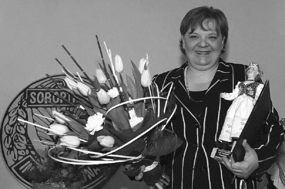 Zmarła była pełnomocnik prezydenta Krakowa i podsekretarz stanu w Ministerstwie Sportu