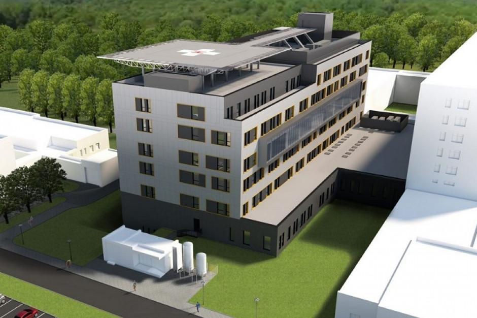 Bydgoszcz: Szpital im. Biziela powiększy się o budynek z lądowiskiem dla śmigłowców