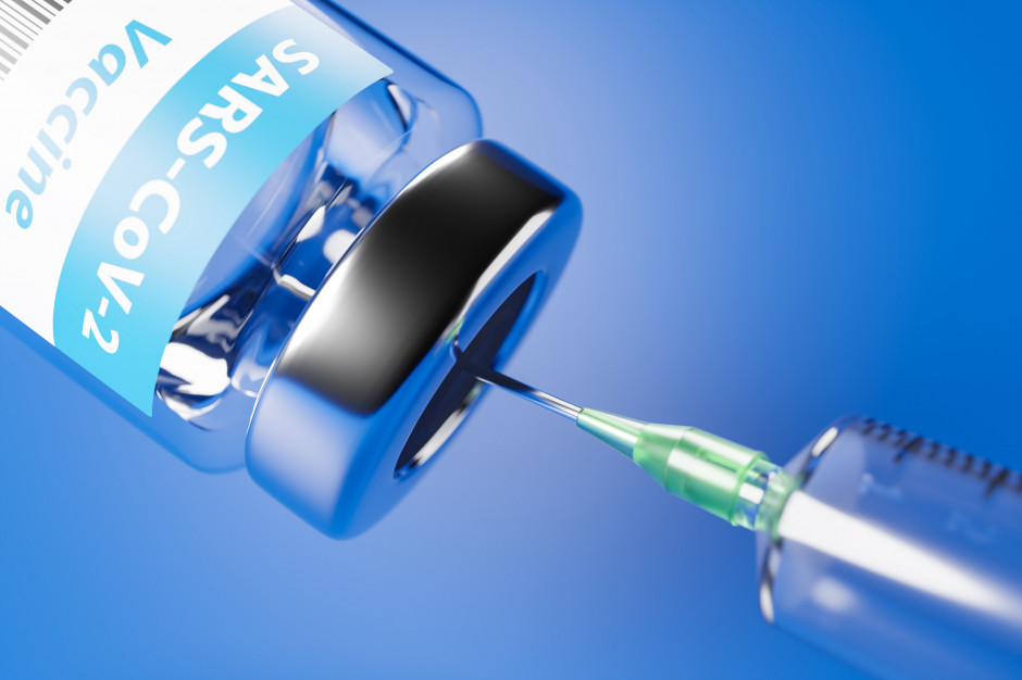 Osoby w wieku 40-49 lat same wybiorą termin szczepienia