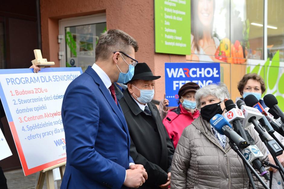 Marcin Warchoł przedstawił swój program dla rzeszowskich seniorów