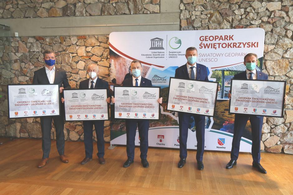 Geopark Świętokrzyski w światowej sieci geoparków UNESCO
