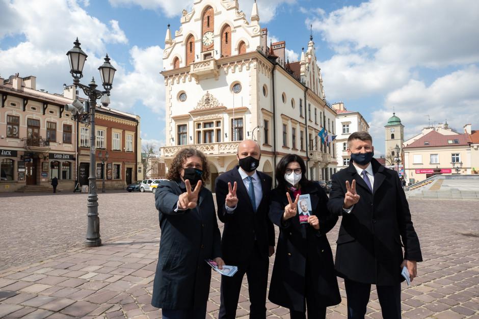 Prezydenci Gdańska i Sopotu wsparli kandydaturę Konrada Fijołka