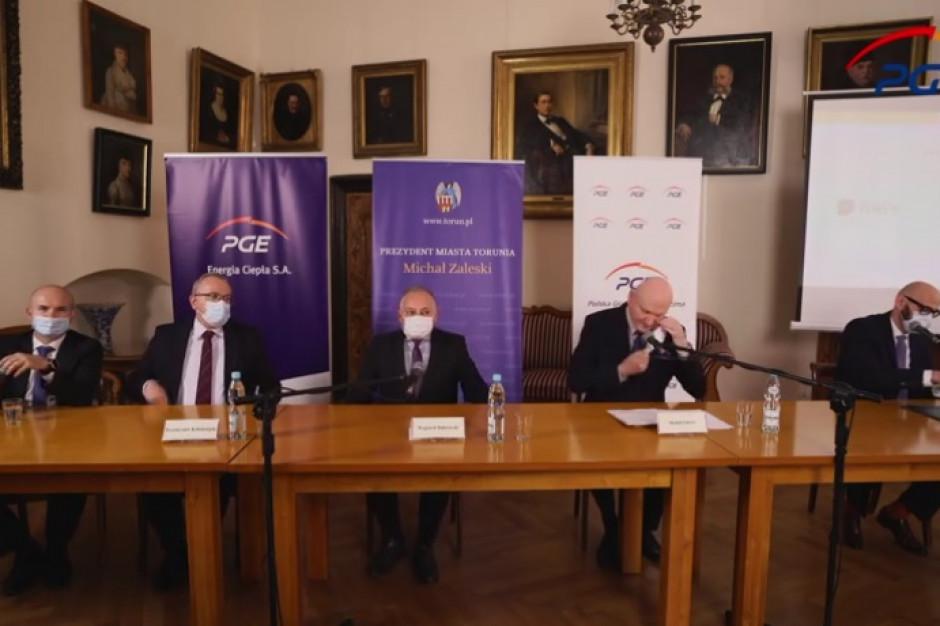 Samorząd i PGE podpisały list intencyjny ws. współpracy na rzecz rozwoju Torunia