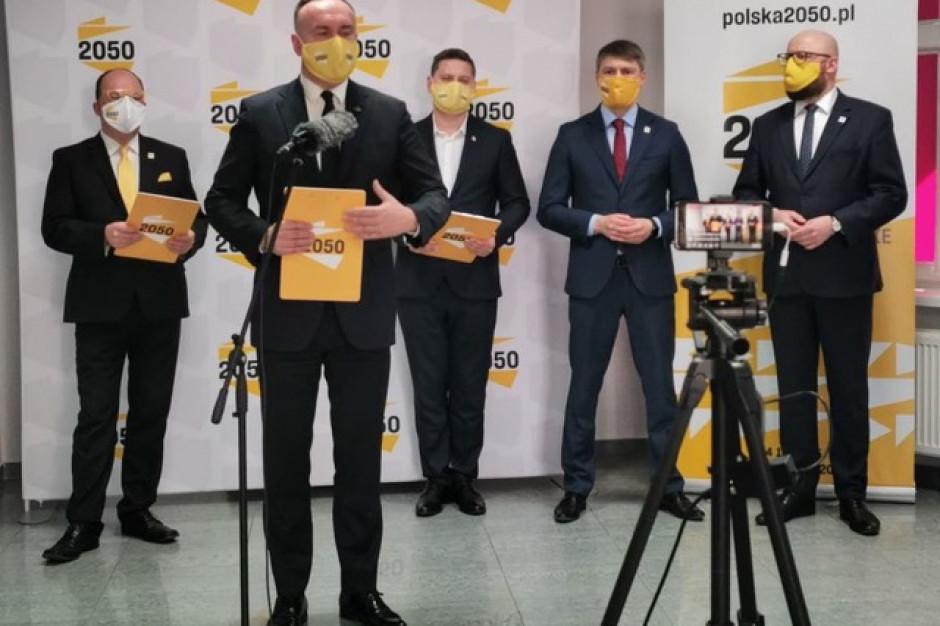 Wiceprezydent Grudziądza i wójt gminy Płużnica w ruchu Polska 2050 Szymona Hołowni