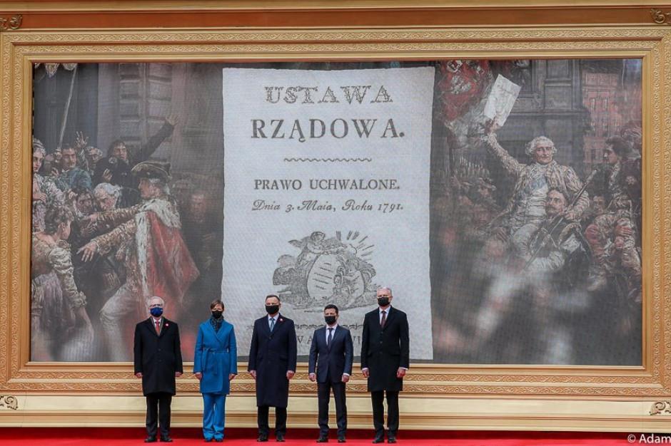 Pięcioro prezydentów przyjęło wspólną deklarację w 230. rocznicę uchwalenia Konstytucji 3 Maja