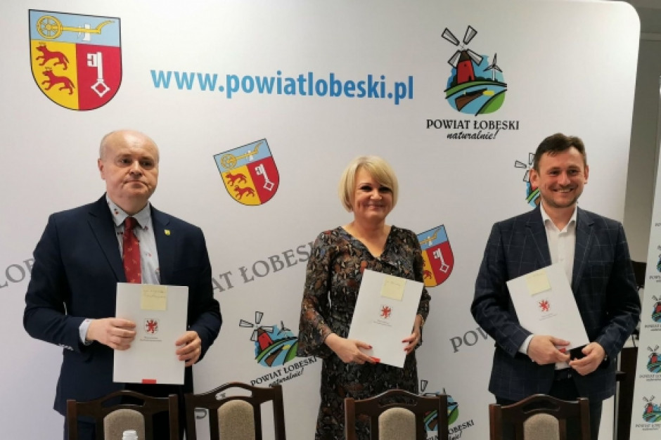 Łobez będzie miał obwodnicę: list intencyjny podpisany, w przyszłym roku projekt