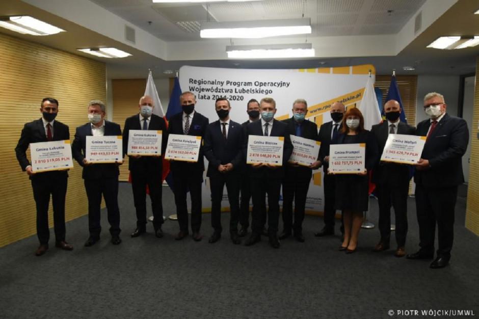 Lubelskie: zarząd województwa rozdzielił 17 mln zł z UE na projekty OZE