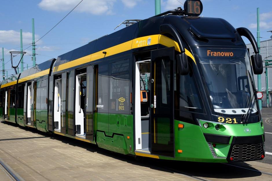 W Poznaniu zostanie otwarty kolejny fragment trasy tramwajowej