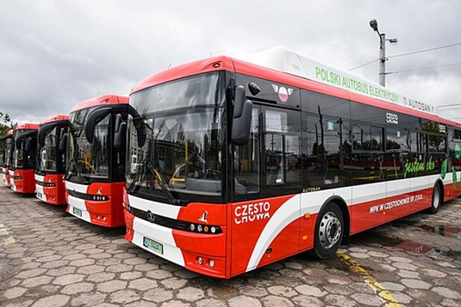 Częstochowa ma już pierwsze autobusy elektryczne Autosana