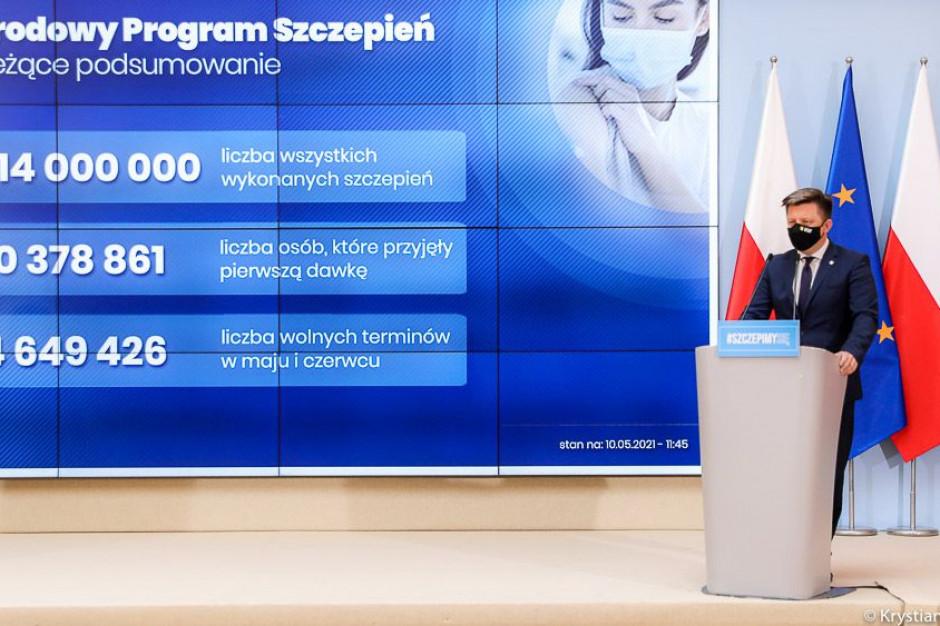 Ponad 4,5 mln wolnych terminów na szczepienie przeciw COVID-19