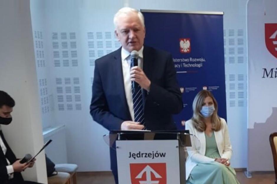 Jarosław Gowin: chcemy, żeby gminy zakładały spółki SIM