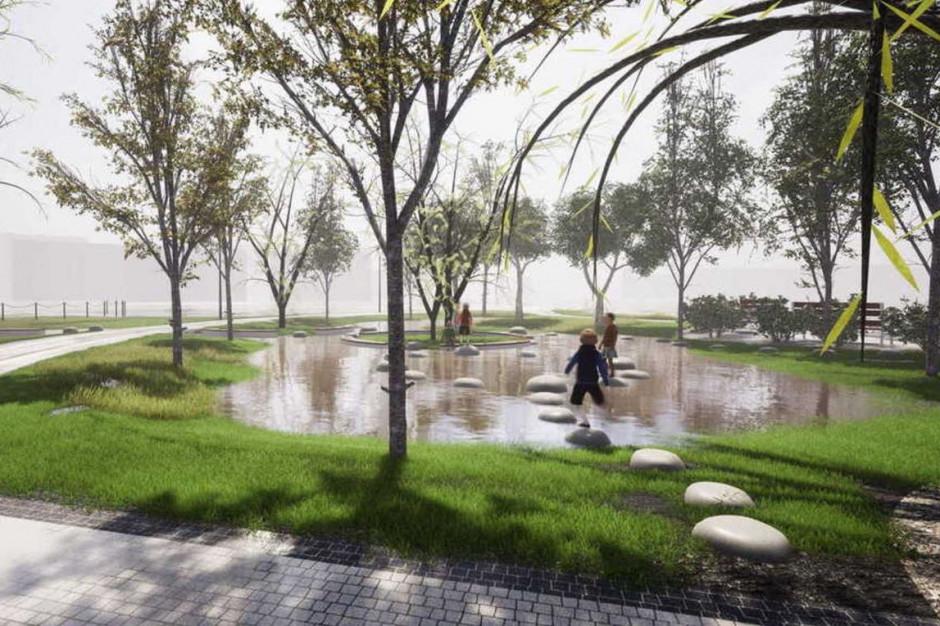 Deszcze podtapiały park. Zrobią z tego atrakcję