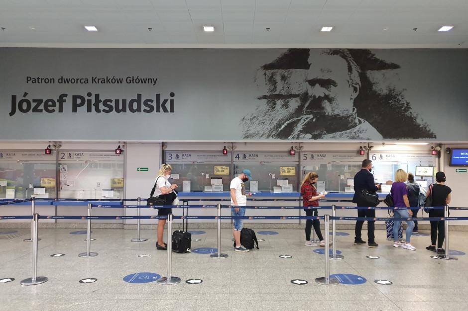 Dworzec zyskał imię Józefa Piłsudskiego