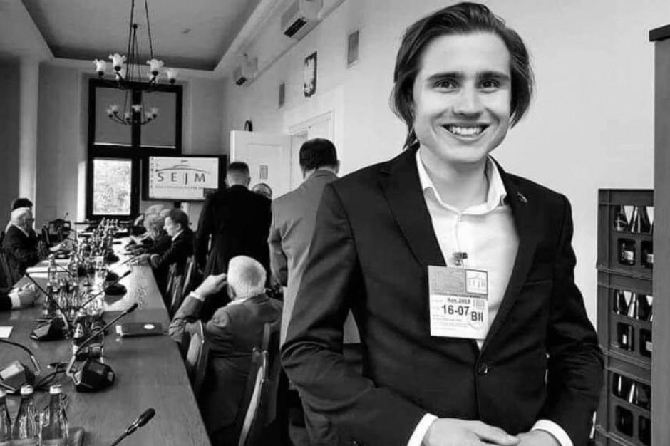 Śmierć 21-letniego radnego z Lublina. Prokuratura postawiła zarzut zabójstwa