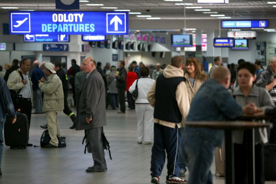 Rośnie liczba pasażerów na katowickim lotnisku