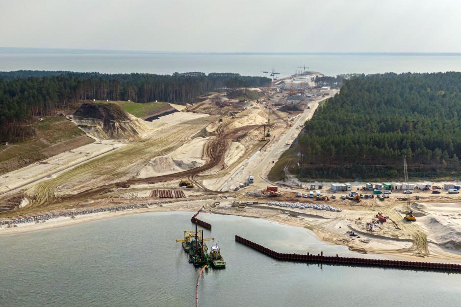 Urząd Morski: zainteresowani budową przekopu mogą korzystać z punktu widokowego