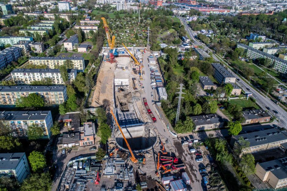 W Łodzi powstają pierwsze odcinki podziemnego tunelu kolejowego