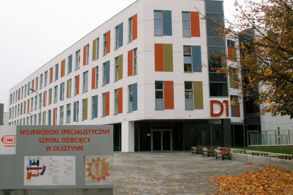 Zakończyła się rozbudowa szpitala dziecięcego w Olsztynie