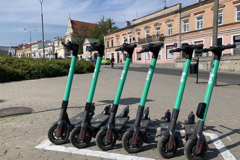 Lublin będzie miał 100 parkingów dla hulajnóg