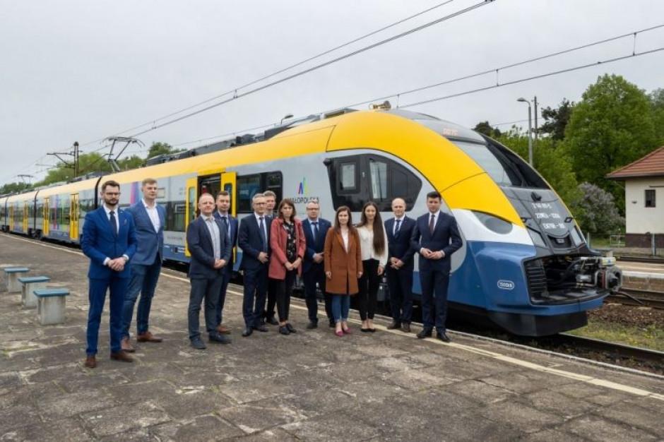 Nowe pociągi elektryczne Elf2 dla Małopolski - w czerwcu