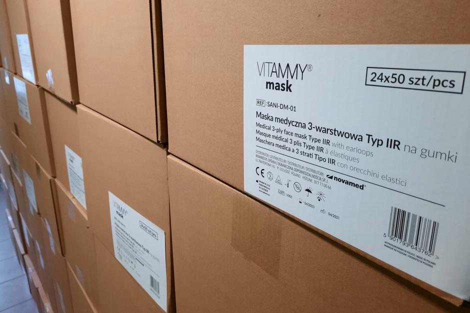 Zgorzelec dostał ponad 100 tysięcy maseczek, gdy rząd zniósł nakaz ich noszenia na powietrzu