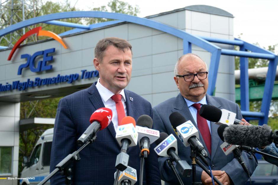 Marszałek: Uzgodniliśmy protokół ws. kopalni Turów. Jest podstawa dla prac rządów