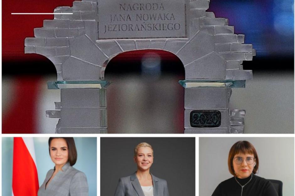 Oto laureatki Nagrody Jana Nowaka-Jeziorańskiego 2021