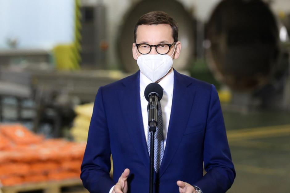 Premier o obostrzeniach: Będzie możliwa organizacja pewnych wydarzeń, ale w reżimie sanitarnym