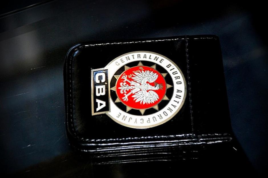 CBA zatrzymało byłego urzędnika starostwa w Wołominie