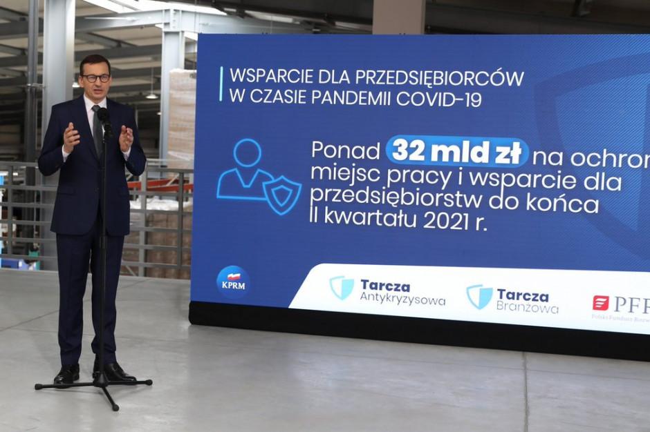 Morawiecki: Polski Ład w obszarze wsparcia firm to jest podatkowe fair play