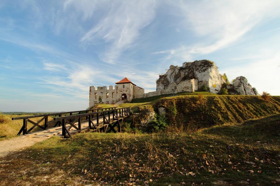 Odrestaurowany zamek w Rabsztynie czeka na zwiedzających