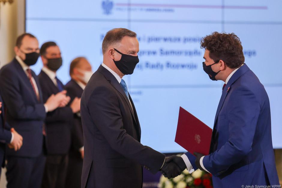 Prezydent Andrzej Duda powołał Radę ds. Samorządu Terytorialnego