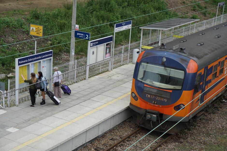 Szybsze podróże z Krakowa do Wadowic i Bielska-Białej. Wkrótce duża inwestycja