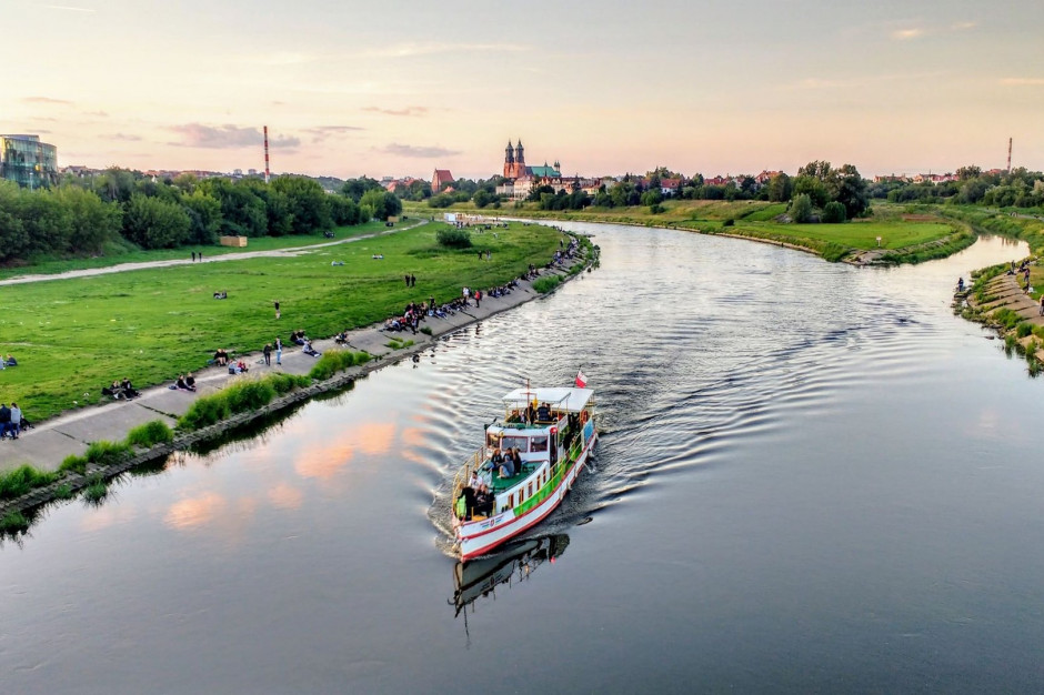 Poznań: Po Warcie znów kursuje tramwaj wodny
