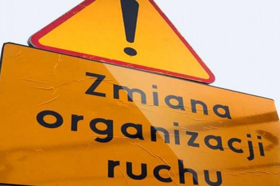 Sosnowiec: Od środy zwężenie na estakadzie drogi nr 94
