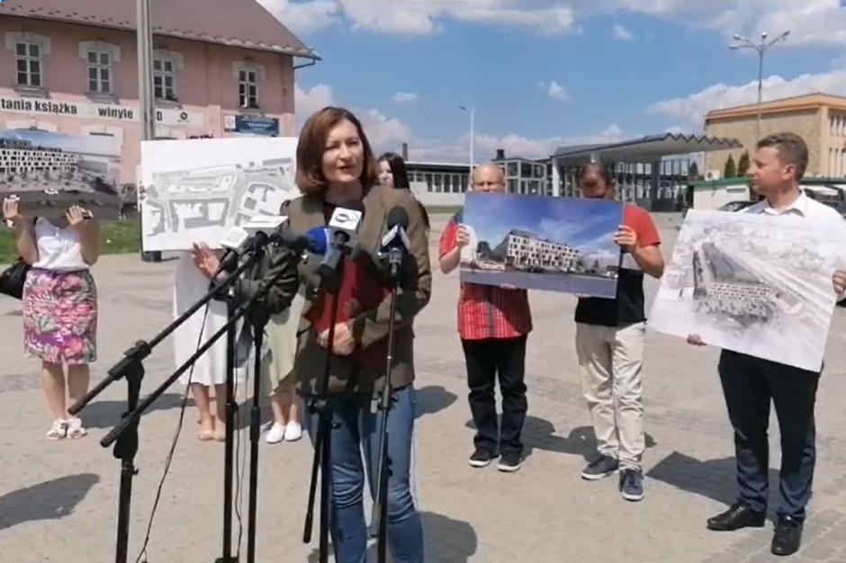 Leniart zaprezentowała projekt wielofunkcyjnego dworca autobusowego w Rzeszowie