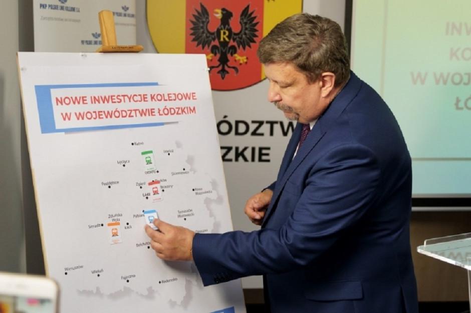 Łódzkie: inwestycje w infrastrukturę kolejową dzięki współpracy województwa i PKP