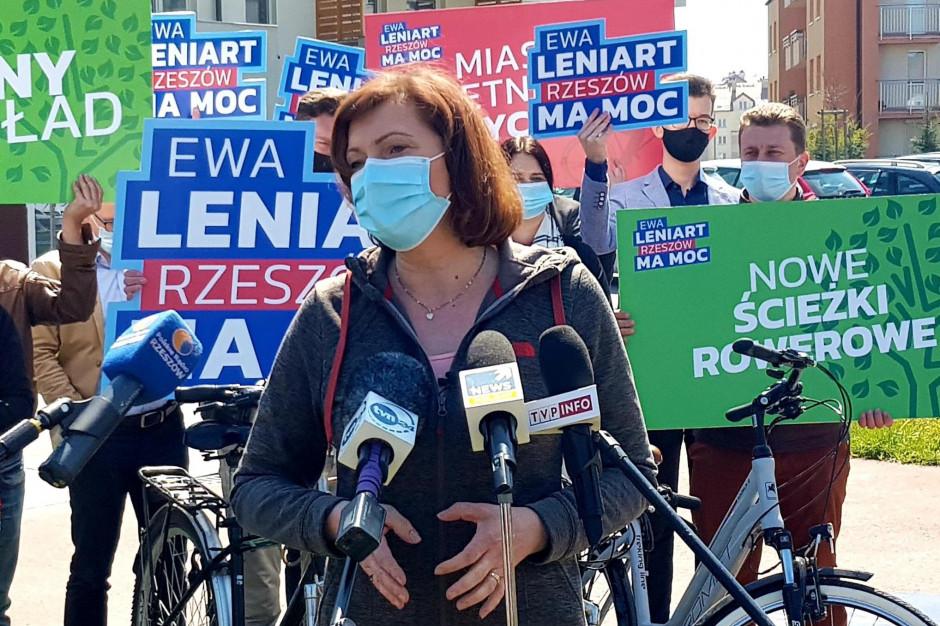 Ewa Leniart: rzeszowianie chcą transparentności w podejmowaniu decyzji