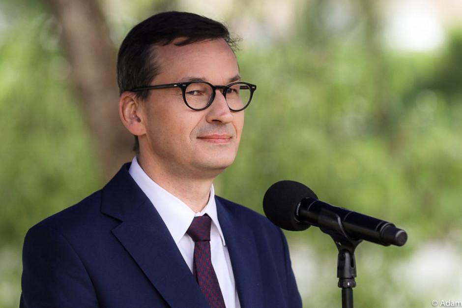 Premier o wyborach w Rzeszowie: Lepiej, gdyby Zjednoczona Prawica miała jedną kandydaturę