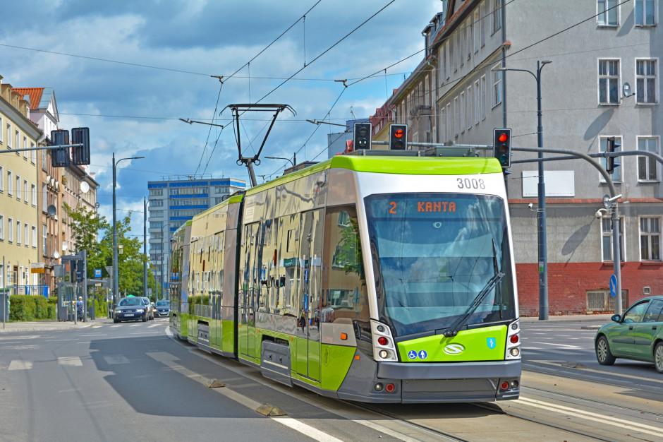 Utrudnienia w ruchu drogowym w Olsztynie. Powstaje nowa nitka linii tramwajowej