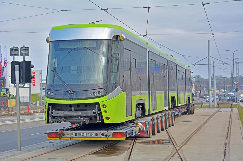 Nowe tramwaje wożą już podróżnych w Olsztynie