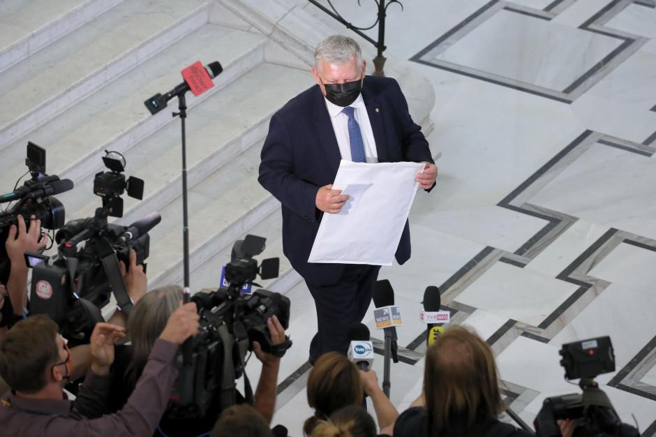 Projekt podziału Mazowsza w zawieszeniu? Marek Suski nabiera wody w usta