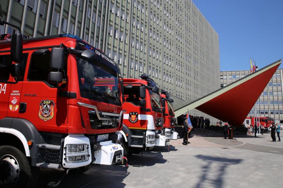 Świętokrzyskie: 36 wozów ratowniczo-gaśniczych dla strażaków PSP i OSP