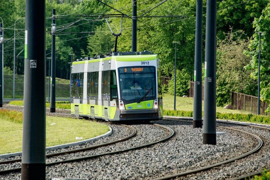 W Olsztynie powstaje linia tramwajowa. Utrudnienia w ruchu